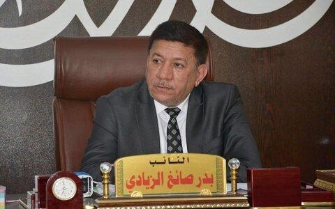 بدر الزیادی عضو کمیته امنیت و دفاع مجلس عراق