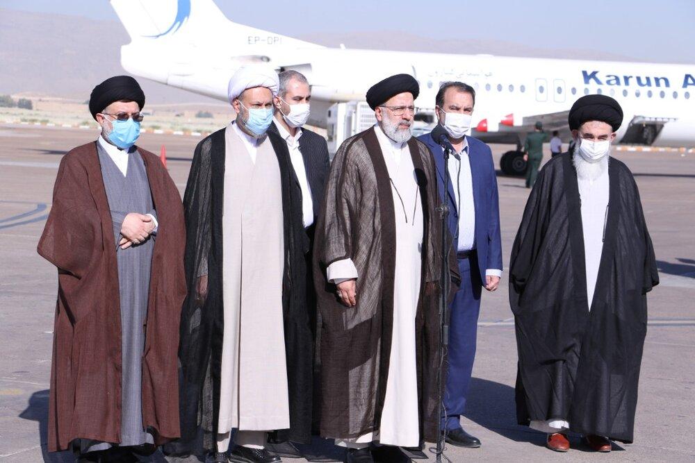 تصاویر سفر رئیس دستگاه قضا به شیراز