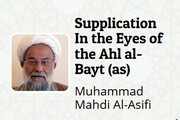 """Supplication in the eyes of the Ahl al-Bayt (as)"" written by Shaykh Muhammad Mahdi al-Asifi"