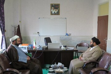 بازدید عضو مجلس خبرگان رهبری از مرکز مشاوره حوزه علمیه قزوین