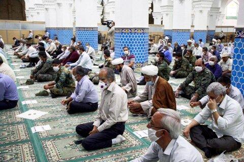 اولین نماز جمعه یزد در سال 99 به روایت تصویر
