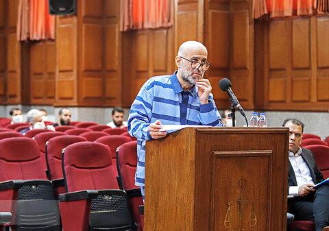 سومین جلسه دادگاه طبری