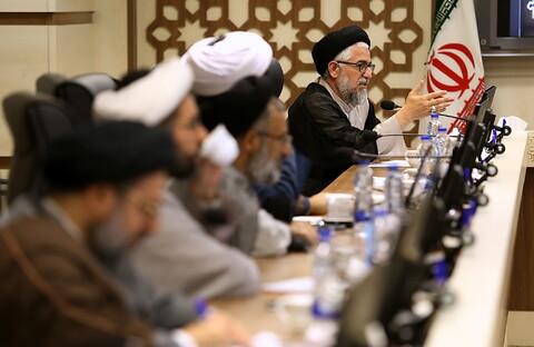 تصاویر/ نشست هیئت اندیشه ورز بیانیه گام دوم انقلاب