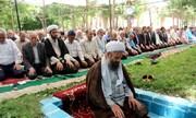 برگزاری نماز جماعت در بوستان های سراسر کشور