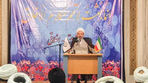 دوره تربیتی- اخلاقی ویژه اساتید درس هویت طلبگی حوزه علمیه اصفهان