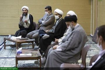 بالصور/ اجتماع أعضاء مؤسسة الغدير الدولية بقم المقدسة