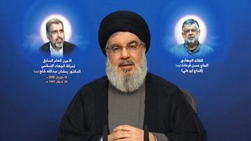 Sayyed Nasrallah: Our weapons will remain, we will not starve, we will kill you