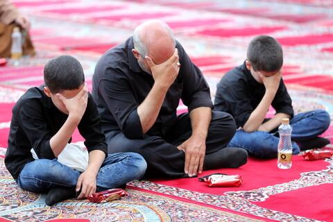 مراسم سوگواری شهادت امام جعفر صادق(ع) در مدرسه علمیه فیضیه