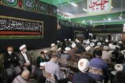 تصاویر/ مراسم بزرگداشت مرحوم آیت الله سید هادی خسروشاهی در قم