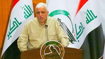 فالح الفیاض تا نیمه ماه بعدی میلادی رئیس حشدالشعبی باقی می ماند