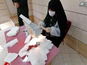 تولید  50 هزار ماسک توسط جهادگران چغادک