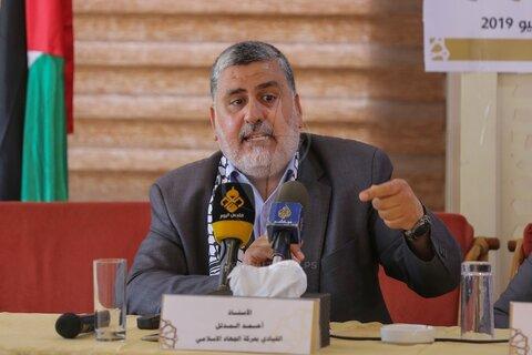 احمد المدلل عضو ارشد جنبش جهاد اسلامی فلسطین
