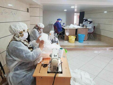 تولید ماسک در خوی