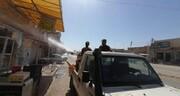 عملیات ضد عفونی و گندزدایی از سوی حشد الشعبی در نجف اشرف +تصاویر