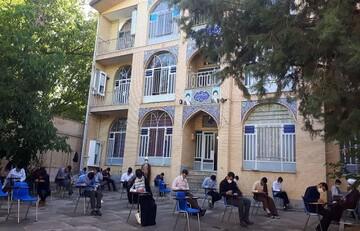 امتحانات حوزه کرمانشاه حضوری در حال برگزاری است