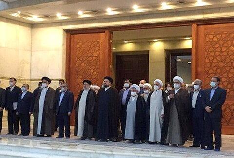مراسم تجدید میثاق مسئولان عالی قضایی با آرمانهای امام خمینی (ره)