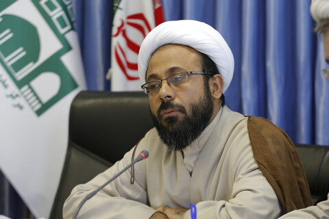 نشست خبری مدیر حوزه علمیه قزوین با اصحاب رسانه
