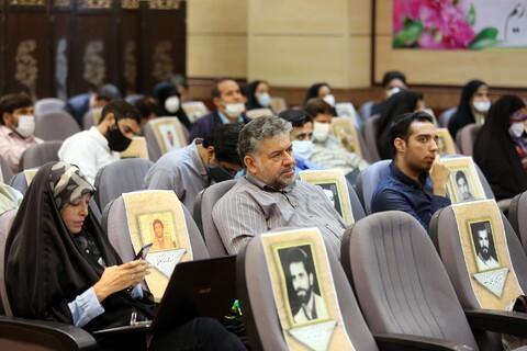تصاویر/ شست خبري رئيس كل دادگستری و مسئولان قضایی استان قم،به مناسبت بزرگداشت هفته قوه قضاييه