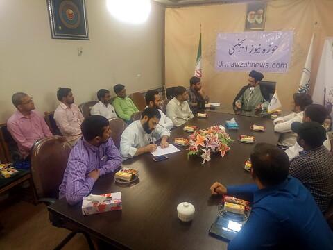 تصاویر/ نشست تخصصی بررسی اوضاع فعلی آمریکا به زبان اردو در خبرگزاری حوزه
