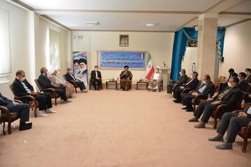 تصاویر/ دیدار مسئولین قضایی آذربایجان غربی با نماینده ولی فقیه در استان