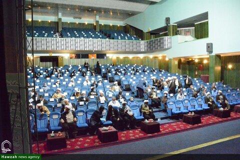 بالصور/ إقامة مؤتمرات ولجان لتبليغ الخطوة الثانية للثورة الإسلامية في مختلف أرجاء إيران