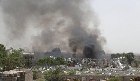 طيران العدوان السعودي يقصف قرى بمحافظة صعدة اليمنية
