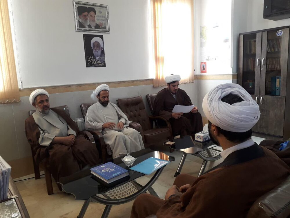 تصاویر/ جلسه شورای هماهنگی نهادهای حوزوی استان ایلام
