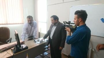 بازدید معاون دفتر حفظ و نشر آثار رهبر معظم انقلاب از خبرگزاری حوزه