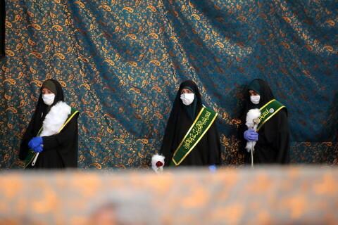 نهمین اجتماع یاوران ام المومنین خدیجه کبری در شب ولادت حضرت فاطمه معصومه (س)