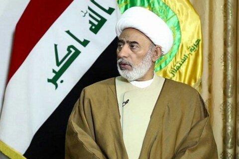 الشيخ حميد معلة الساعدي رئيس المؤتمر العام التأسيسي لتيار الحكمة الوطني العراقي