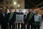 تصاویر / جشن دهه کرامت با حضور خادمان کریمه اهل بیت (ع) در مسجد فاطمیون محله باغ پنبه