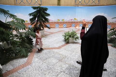 تصاویر/ جشن بمناسبت روز دختر ومیلاد حضرت فاطمه معصومه (س) ویژه فرزندان طلاب بسیجی