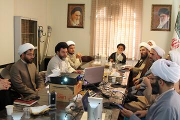 تصاویر / جلسه ویدئو کنفرانس مدیران مدارس حوزه علمیه استان همدان