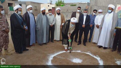بالصور/ زيارة ممثل الولي الفقيه في محافظة هرمزكان إلى جزيرة هرمز جنوبي إيران
