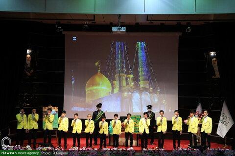 بالصور/ مراسيم افتتاح 110 مشروع عمراني وخدمي وثقافي لبلدية مدينة قم المقدسة