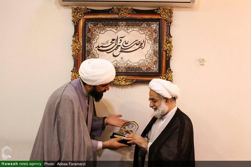 تصاویر/ بازدید تولیت مدرسه علمیه مروی تهران از رسانه رسمی حوزه
