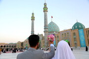 آغاز ویژه برنامه های ۹ ربیع الاول مسجد مقدس جمکران