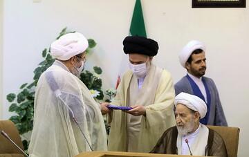 تصاویر/ تقدیر از اعضای سابق شورای عالی حوزه های علمیه