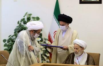 سه عضو سابق شورای عالی حوزه مورد تجلیل قرار گرفتند