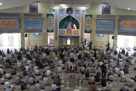 تصاویر / برگزاری نماز جمعه همدان بعد از 4 ماه تعطیلی
