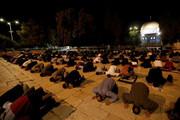 ۳۰ هزار نمازگزار فلسطینی با حفظ فاصله در مسجدالاقصی نماز جمعه اقامه کردند