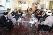 بالصور/ آية الله الأعرافي يتفقد المركز التخصصي للفلسفة الإسلامية بقم المقدسة