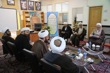تصاویر/ بازدید آیت الله اعرافی از مرکز تخصصی فلسفه اسلامی