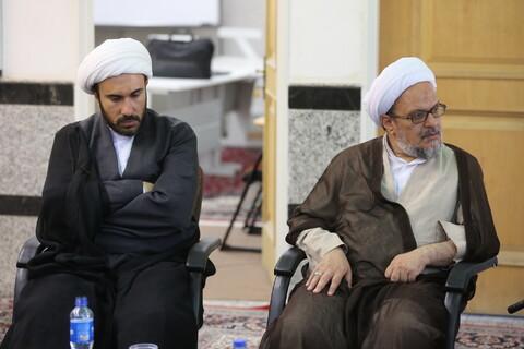 بازدید آیت الله اعرافی از مرکز تخصصی فلسفه اسلامی