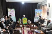 تصاویر / حضور کاروان زیر سایه خورشید در دفتر نماینده ولی فقیه در استان همدان