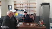 مدیرکل تبلیغات اسلامی آذربایجانغربی به دیدار روحانیون پیشکسوت تکاب رفت + عکس