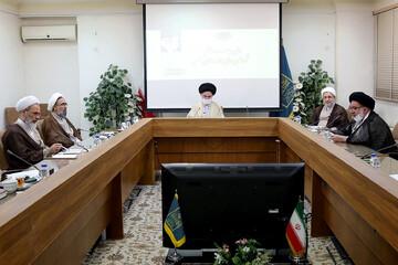 تصاویر/ اولین جلسه دوره هشتم شورای عالی حوزه های علمیه