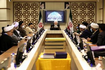 تصاویر/ نشست هیئت امنای بنیاد حیات طیبه علمای جهان اسلام