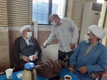 مدیر حوزه آذربایجانغربی از برگزاری امتحانات طلاب ارومیه بازدید کرد+ عکس