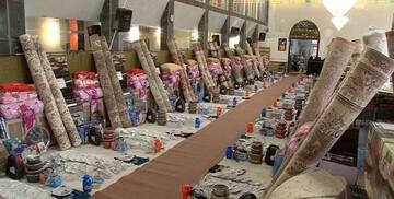 اهدای ۱۱۰ جهیزیه به دختران منطقه محروم بشاگرد در عید غدیر